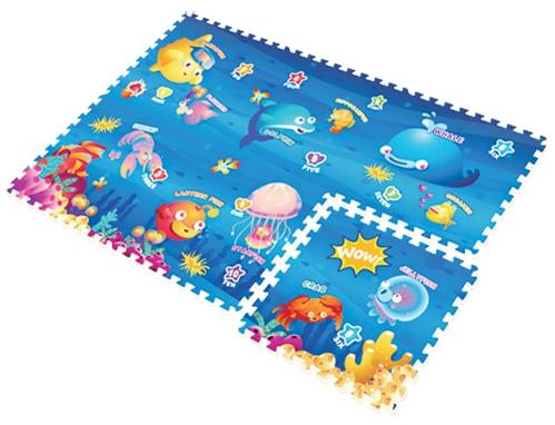 Игровой коврик Mambobaby Океан