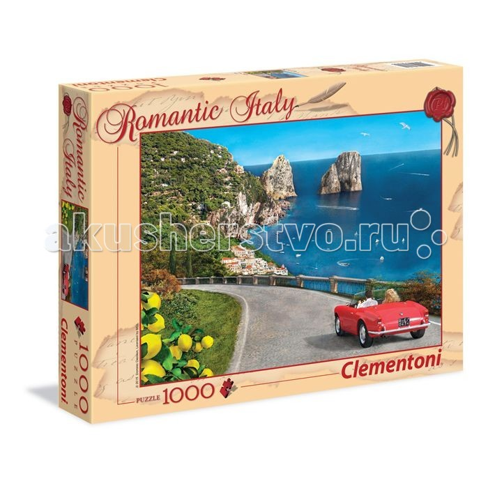 Clementoni ���� ������������� ������ - ������� ������� ����� (1000 ���������)