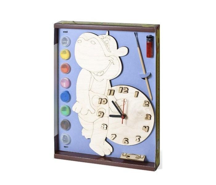 Бэмби Часы c циферблатом под роспись Бегемот ДНИ 115