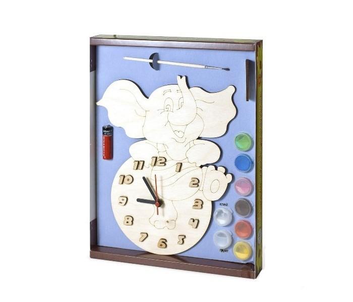 Бэмби Часы c циферблатом под роспись Слоник ДНИ 123