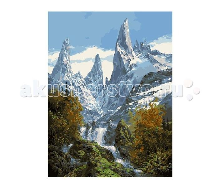 Molly Картина по номерам Снежные вершины