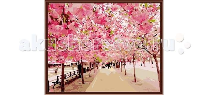Molly Картина по номерам Розовый паркКартина по номерам Розовый паркMolly Картина по номерам Розовый парк GX6254  Картина по номерам - это интеллектуальное рисование. Просто взяв в руки краски и следуя нумерации на фрагментах картинки, Вы создаете оригинальный рисунок. Раскраска по номерам учит штриховать рисунки в заданных областях и раскрашивать их, не заходя за контур, концентрироваться на отдельных предметах, планировать свою деятельность.  Комплектация: - холст, сделанный из чистого хлопка на подрамнике; - набор акриловых красок, индивидуально разлитый для каждой картины; - набор кистей; - крепеж для подвешивания картины; - акриловый лак.  Размер: 40х50 см.<br>