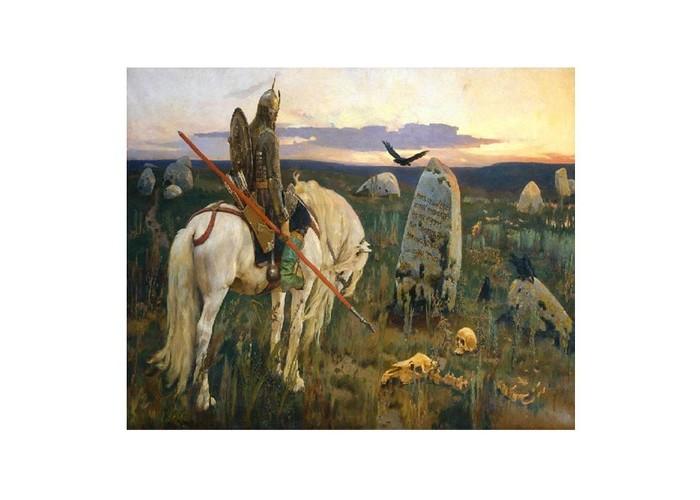 Molly Картина по номерам В.Васнецов Витязь на распутье