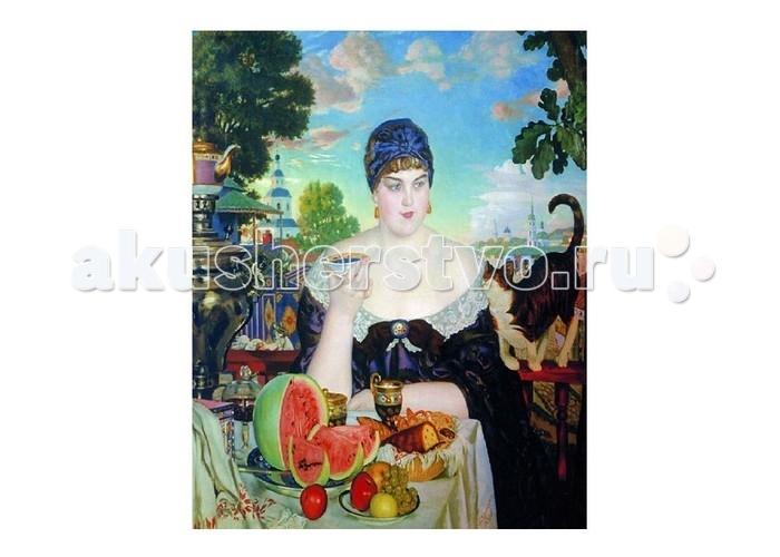 Molly Картина по номерам Б.Кустодиев Купчиха за чаем