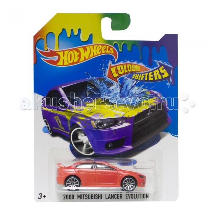 Hot Wheels Машинки меняющие цвет Color Shifters Mitsubishi Lancer Evolution
