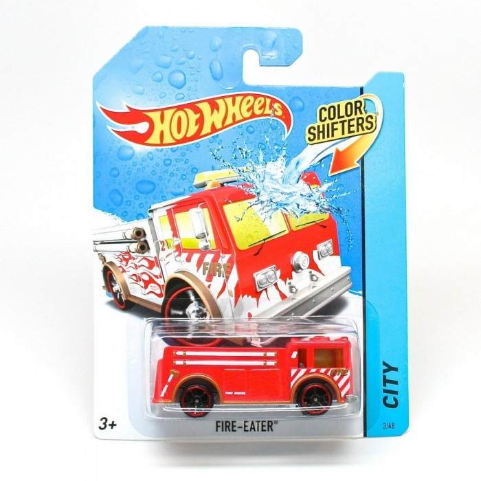 Hot Wheels ������� �������� ���� Color Shifters Fire-Eater
