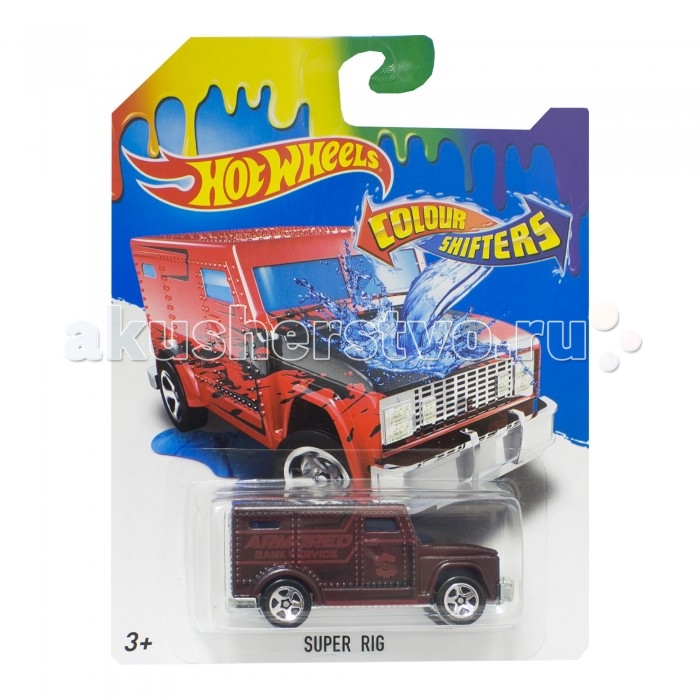 Hot Wheels ������� �������� ���� Color Shifters Super Rig