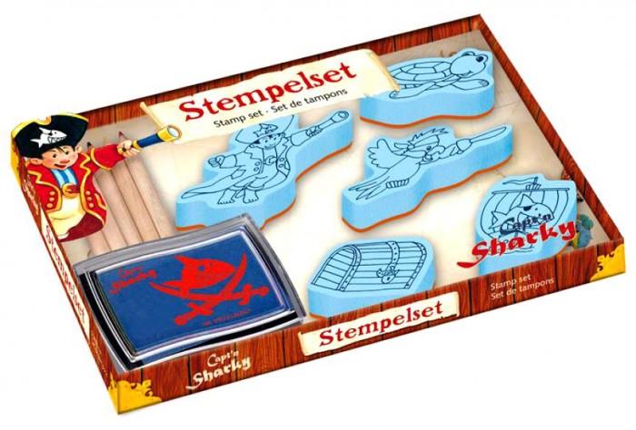 Spiegelburg Набор для детского творчества Capt'n Sharky 21364