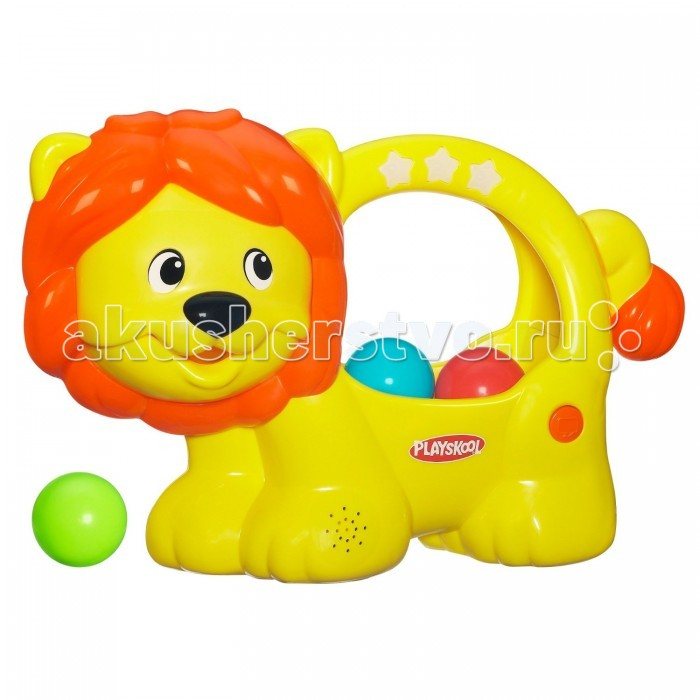 Playskool Hasbro игрушка Веселый Львенок