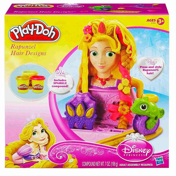 Пластилин Play-Doh Hasbro Набор пластилина Волосы Рапунцель