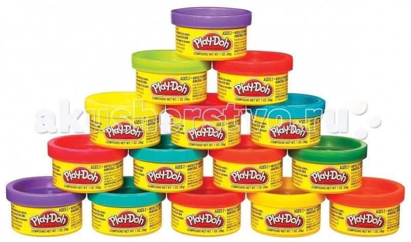 Пластилин Play-Doh Hasbro Набор Пластилина Для Праздника 15 банок