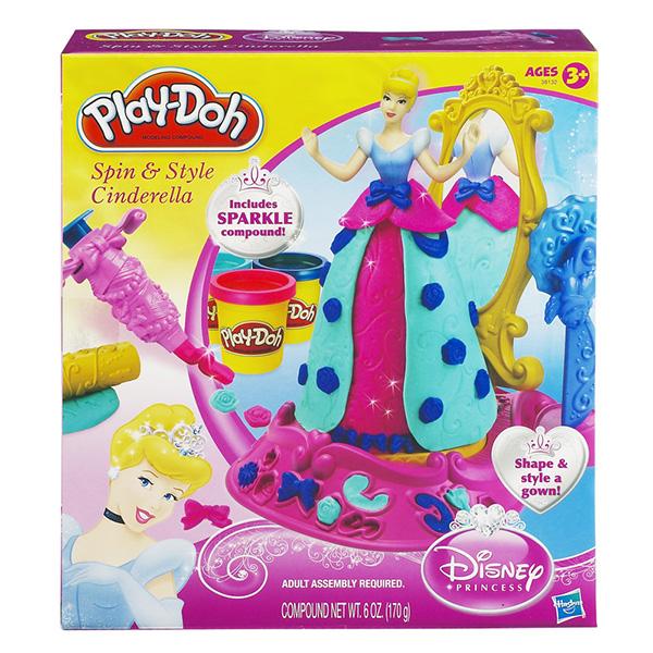 Пластилин Play-Doh Hasbro Игровой набор из пластилина платье Золушки
