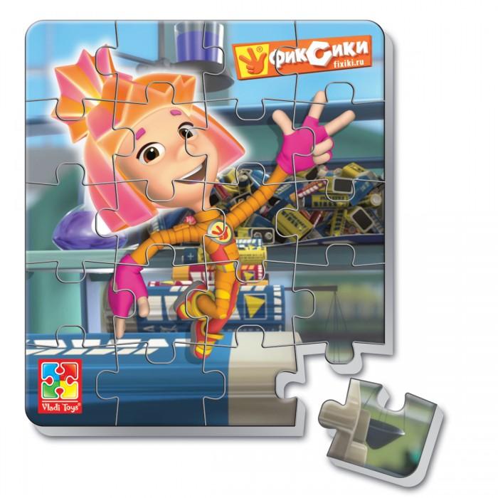 Vladi toys Пазлы мягкие магнитные в стакане Фиксики Симка (20 элементов)