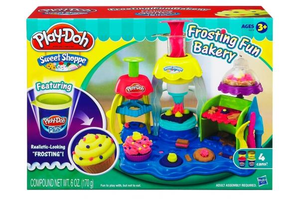 Пластилин Play-Doh Hasbro Набор Фабрика пирожных