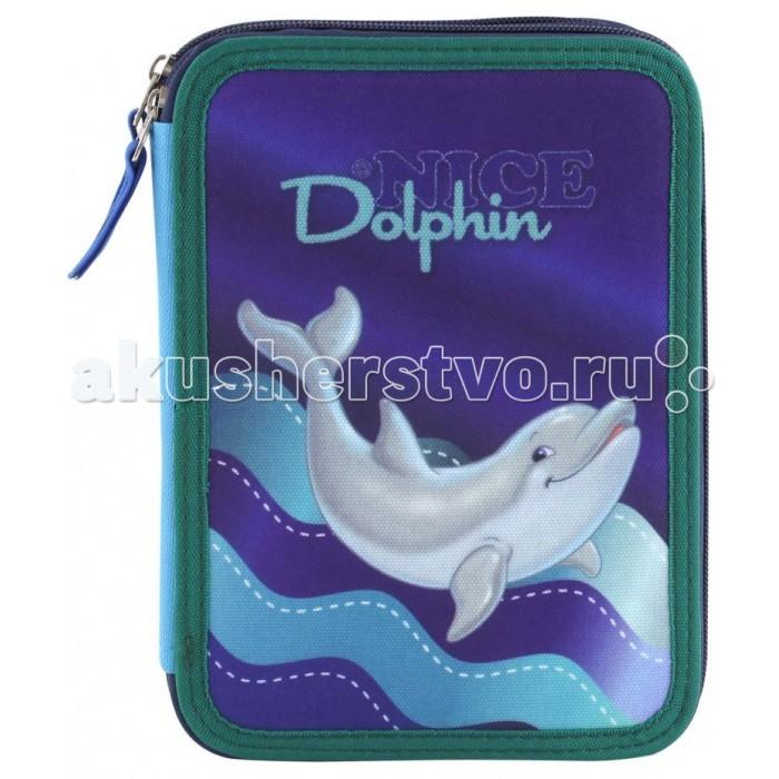 Target Collection Пенал с канцтоварами Дельфины №1