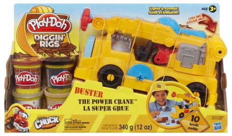 Пластилин Play-Doh Hasbro Игровой набор Весёлый кран