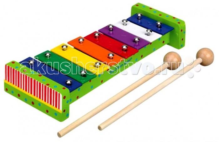 Музыкальная игрушка Spiegelburg Ксилофон Die Lieben Sieben 25497