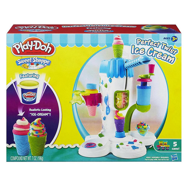 Пластилин Play-Doh Hasbro Игровой набор Страна мороженого