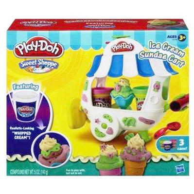 Пластилин Play-Doh Hasbro Игровой набор Вагончик мороженого