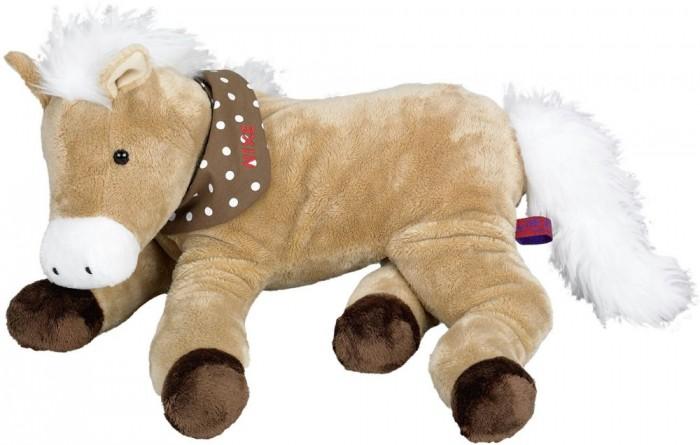 Мягкая игрушка Spiegelburg Плюшевая лошадка Nixe 25285Плюшевая лошадка Nixe 25285Spiegelburg Плюшевая лошадка Nixe 38см 25285 понравится всем любителям лошадей!   Мягкая и приятная на ощупь - не оставит равнодушных никого.Мягкие игрушки прививают детям нежность и доброжелательность, развивают тактильные навыки и воображение. Вручите своему ребенку настоящего друга!   Игрушка изготовлена из гипоаллергенных материалов.<br>
