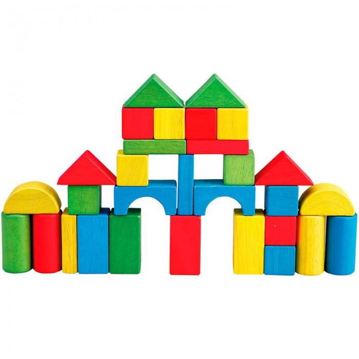 Деревянная игрушка Bino Конструктор 84195 (30 деталей)Конструктор 84195 (30 деталей)Деревянная игрушка Bino Конструктор 84195 (30 деталей). Все элементы окрашены в основные цвета, что позволит в процессе игры познакомиться с основными цветами и формой предметов, развивать пространственное мышление, навыки конструирования, логику, память, моторику, координацию движений.   Набор из дерева для постройки замка, башни, манежа для животных и других построек. Для самых маленьких набор можно использовать как сортер.<br>