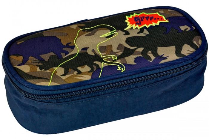 Spiegelburg Пенал T-Rex World 11861Пенал T-Rex World 11861Школьный пенал T-REX World с аппликацией в виде динозавра. Легкий, компактный, вместительный. Поможет разместить все ручки, карандаши, линейки и прочие предметы для учебы.   Основные характеристики:  Размер: 21 x 5,5 x 11 cм<br>