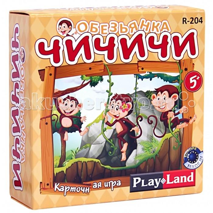 Play Land Настольная игра Обезьянка Чичичи