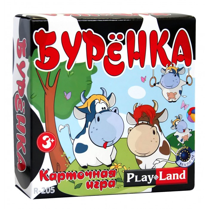 Play Land Настольная игра Буренка