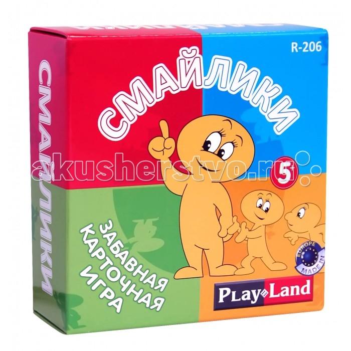 Play Land Настольная игра Смайлики