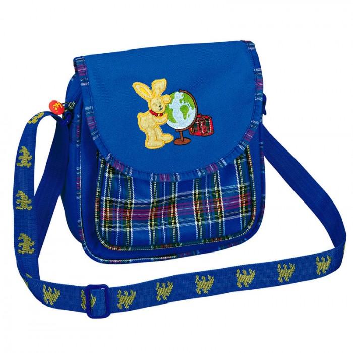 Spiegelburg Сумка для детского сада Felix 7239Сумка для детского сада Felix 7239Маленькая сумочка Felix сделана из непромокаемого нейлона синего цвета. Удобный ремешок с регулированной длиной. На сумочке изображен непосредственно сам Феликс.  Основные характеристики:  Размер: 20 х 22 х 6 см<br>