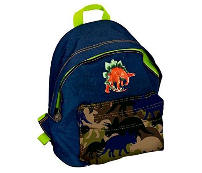 Spiegelburg Рюкзак для детского сада T-Rex World 11674Рюкзак для детского сада T-Rex World 11674Детский рюкзак T-Rex World незаменимая вещь для похода в детский сад. Имеет два отделения на молнии, эргономичные лямки и поясной ремешок.   Основные характеристики:  Размер: 20 х 25 х 10 см<br>
