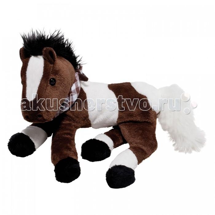 Мягкая игрушка Spiegelburg Плюшевая лошадка Flecki 25395Плюшевая лошадка Flecki 25395Spiegelburg Плюшевая лошадка Flecki 25395 изготовлена из высококачественных материалов и абсолютно безопасна даже для самых маленьких.  Мягконабивная Лошадка Флекси  станет для малыша любимой игрушкой и отличным украшением интерьера любой детской комнаты.   Имеет приятный коричневый окрас с белыми пятнами. Шея украшена шарфиком в клетку, который при желании можно снять.<br>