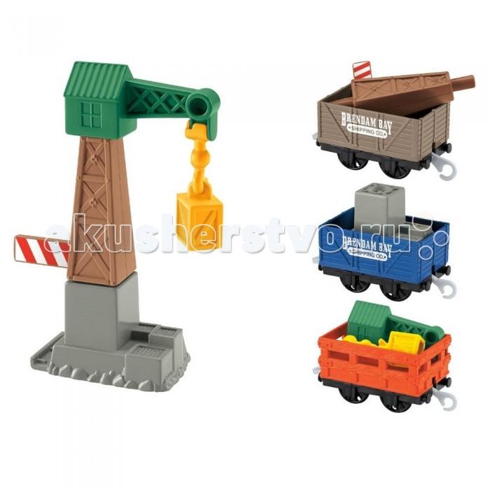 Thomas & Friends Томас и его друзья Набор Доставка грузов и подъемный кран