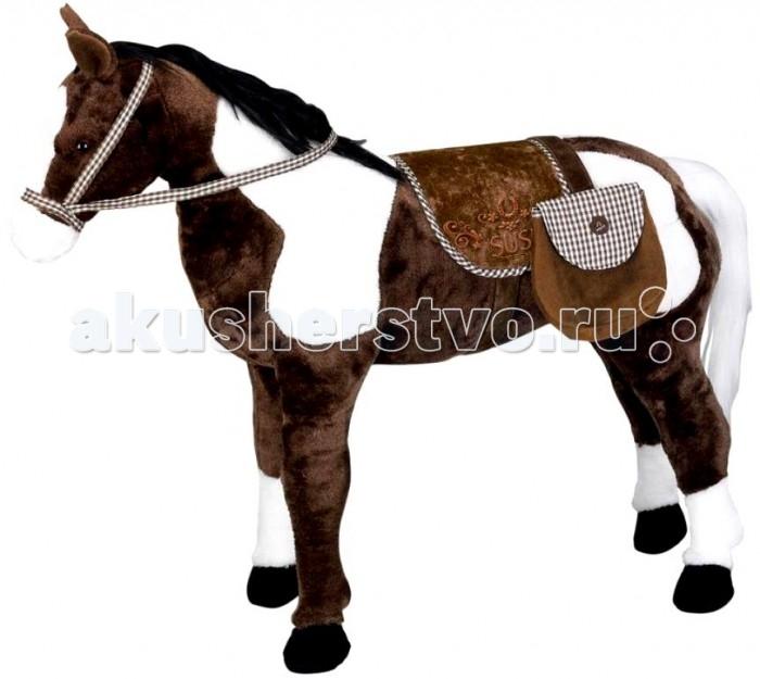 Мягкая игрушка Spiegelburg Плюшевая лошадь Susi XXL 25530Плюшевая лошадь Susi XXL 25530Spiegelburg Плюшевая лошадь Susi XXL 25530 порадует маленьких любителей лошадей.   Милая лошадка станет добрым другом для маленького наездника. Ведь это практически настоящая живая лошадь!   У нее есть специальный звуковой модуль под седлом, с помощью которого лошадь издает ржание. Ее можно оседлать и прокатиться. Лошадка украшена красивым бархатным седлом, уздечкой и очаровательным украшением в виде большой яркой розы.<br>