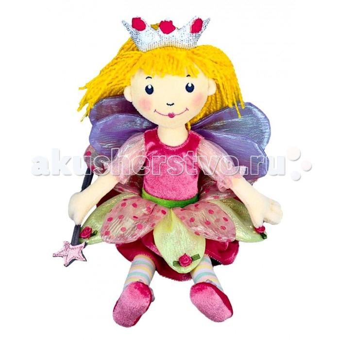 Spiegelburg Кукла Prinzessin Lillifee 30см 25547Кукла Prinzessin Lillifee 30см 25547Spiegelburg Кукла Prinzessin Lillifee 30см 25547 большая мягкая кукла, принцесса Лиллифея с волшебной палочкой в руках и крылышками за спиной, отличный выбор для маленькой девочки!   Принцесса одета в яркий наряд: розовое платье с прозрачными рукавами, верхняя юбочка в форме цветка и розовые башмачки делают эту куклу невероятно очаровательной.   Кукла выполнена из текстиля и приятна на ощупь. Она обязательно станет любимой игрушкой для вашей маленькой принцессы и послужит прекрасным украшением интерьера детской комнаты.<br>