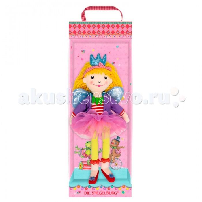 Spiegelburg Кукла Prinzessin Lillifee 10754Кукла Prinzessin Lillifee 10754Spiegelburg Кукла Prinzessin Lillifee 10754 главная героиня мультфильма о принцессе, живущей в Розовом королевстве.   Станет лучшей подружкой для Вашей малышки.Нарядное розовое платьице и волосы из мягкой пряжи придутся по душе любой девочке.<br>