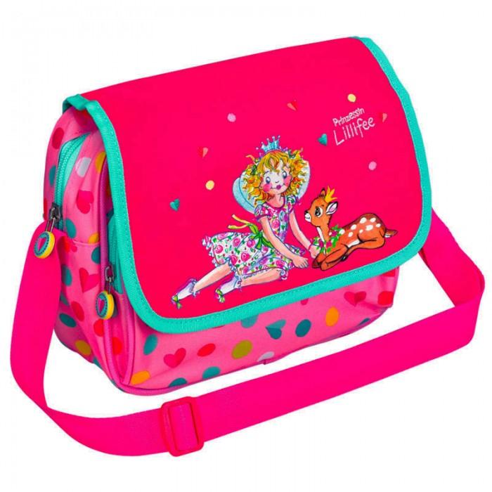 Spiegelburg Сумка для детского сада Prinzessin Lilifee 11991Сумка для детского сада Prinzessin Lilifee 11991Сумка для детского сада Prinzessin Lillifee в классическом стиле. Ярко розовый цвет, вышивка принцессы Лилифи с олененком. Удобная, миниатюрная, функциональная.  Основные характеристики:  Размер: 22 х 18 х 7,5 см<br>