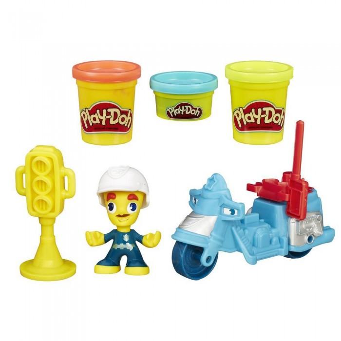 Play-Doh Игровой набор пластилина Город Транспортные средства
