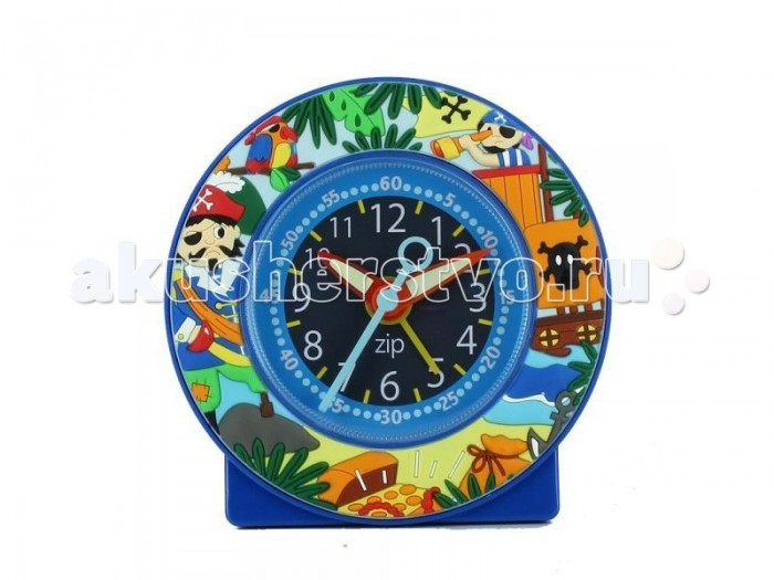 Часы Baby Watch Будильник Pirates 605460Будильник Pirates 605460Baby Watch Будильник Pirates 605460 классические часы в довольно ярких тонах. Большие цифры, понятные даже малышам.  Основные характеристики: возраст от 6 лет батарейка АА (не входит в комплект) люминесцентные стрелки тихий ход гарантия 2 года. Все модели часов разработаны во Франции, прошли проверку в независимой лаборатории и сделаны из безопасных материалов.<br>