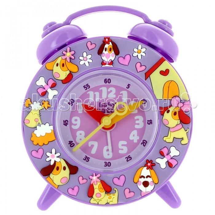 Часы Baby Watch Будильник Les ChiotsБудильник Les ChiotsBaby Watch Будильник Les Chiots классические часы в довольно ярких тонах. Большие цифры, понятные даже малышам.  Основные характеристики: возраст от 6 лет батарейка АА (не входит в комплект) люминесцентные стрелки тихий ход гарантия 2 года. Все модели часов разработаны во Франции, прошли проверку в независимой лаборатории и сделаны из безопасных материалов.<br>