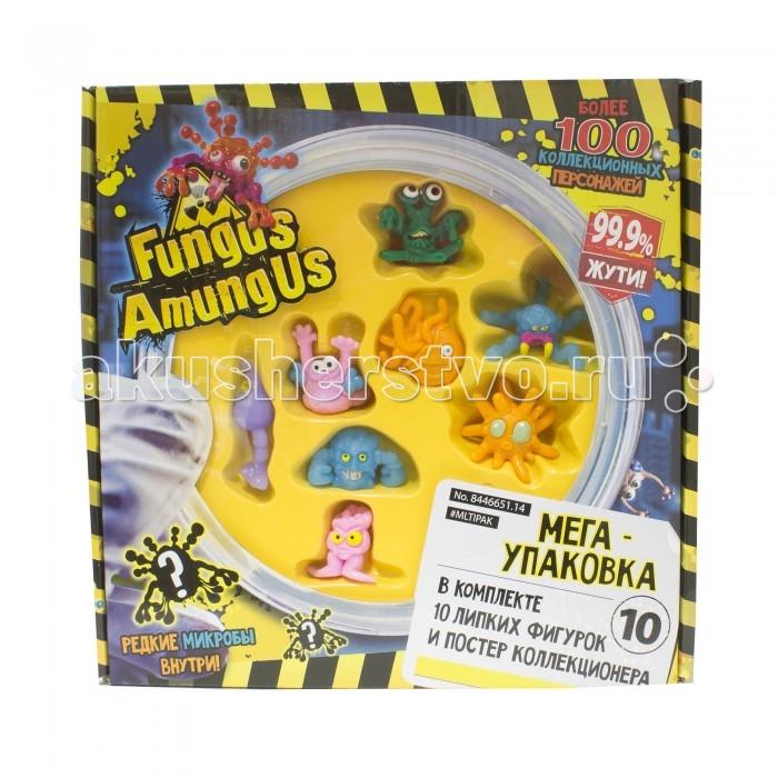 Vivid Fungus Amungus Игровой набор 10 фигурок микробов