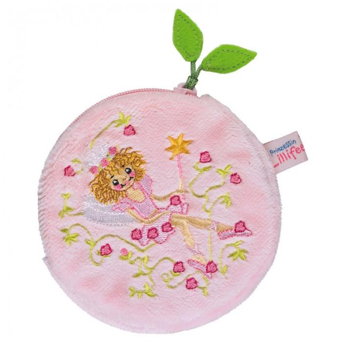 Spiegelburg Кошелек Prinzessin Lillifee 25062Кошелек Prinzessin Lillifee 25062Мягкий, круглый кошелек Prinzessin Lillifee выполнен в розовом цвете с набивной вышивкой. Один главный отдел застегивается на молнию. Изготовлен из искусственного меха с коротким ворсом.   Основные характеристики:   Размер: 10 см<br>