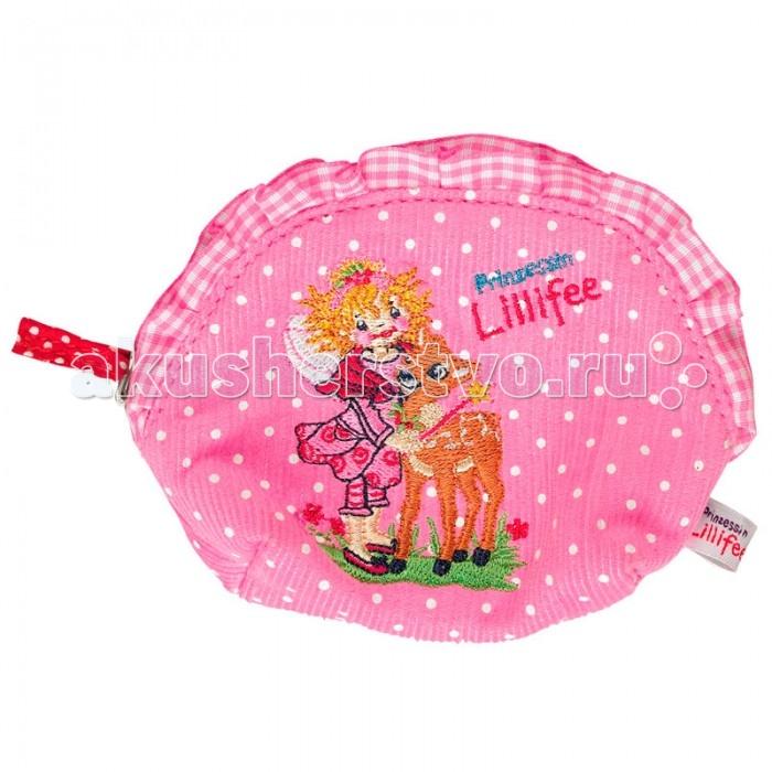 Spiegelburg Портмоне Prinzessin Lillifee 30395Портмоне Prinzessin Lillifee 30395Мягкий кошелек из коллекции Prinzessin Lillifee создан для самых маленьких принцесс. Застегивается на молнию. Выполнен из ткани с вельветовой фактурой с набивным рисунком. Отличный аксессуар для маленькой модницы!<br>