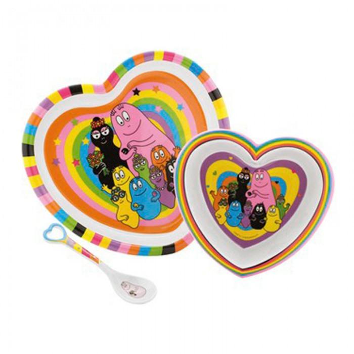 Petit Jour Набор детской посуды Barbapapa BA963C