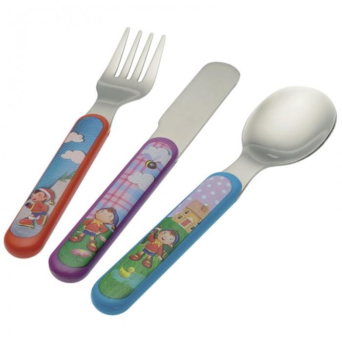 Petit Jour Набор столовых приборов Oui OuiНабор столовых приборов Oui OuiPetit Jour Набор столовых приборов Oui Oui выполнен из нержавеющей стали.   Все приборы дополнены удобными ручками из пластика розового цвета.  В наборе: вилка, ложка и нож.  Размер: 11х19х2 см<br>