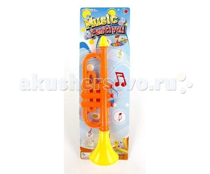 Музыкальная игрушка Shantou Gepai Горн 34 см