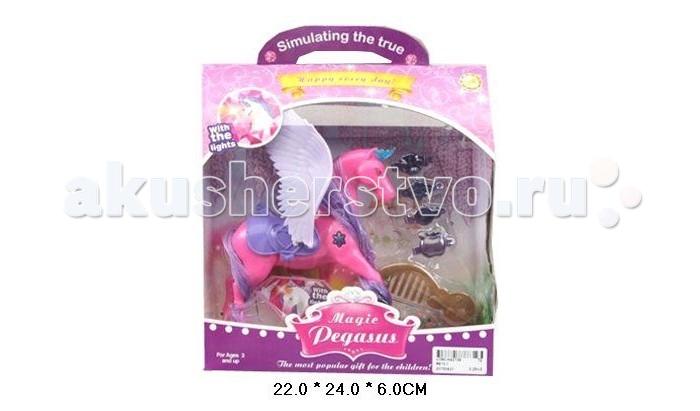 Shantou Gepai Набор Magic Pegasus розовая  с аксессуарами.