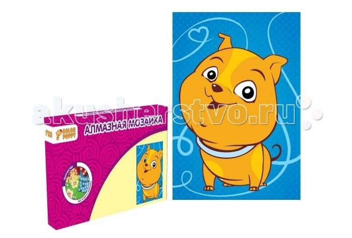 Color Puppy Алмазная мозаика Собачка