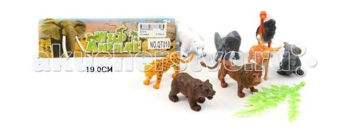 Shantou Gepai Набор дикие животные QT010Набор дикие животные QT010Набор Дикие животные познакомит ребенка с разнообразием зверей на нашей планете! Эти животные населяют различные континенты, им посвящены многочисленные документальные фильмы, которые так любят смотреть дети. Игрушки выполнены очень реалистично и смогут послужить наглядным учебным пособием. Замечательно дополнение к любой познавательной энциклопедии!  К тому же, играя с небольшими фигурками, ребенок развивает мелкую моторику рук, сенсорное восприятие, знакомится с различными формами и цветами.<br>