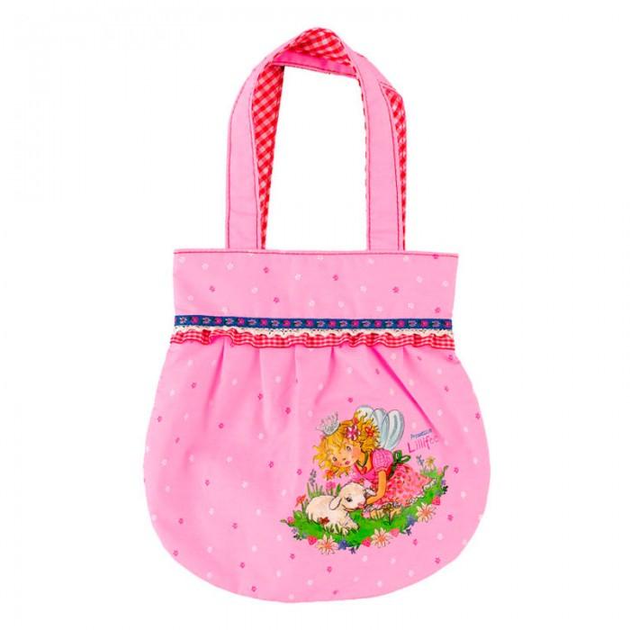 Spiegelburg Сумка Prinzessin Lillifee 30569Сумка Prinzessin Lillifee 30569Миниатюрная сумочка Prinzessin Lillifee для маленьких принцесс! Отлично подойдет для прогулок, похода в детский сад или поездки.  Основные характеристики:   Размер: 25 x 25 см<br>